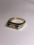 Custom Tourmaline and Diamond Ring for Father's Day