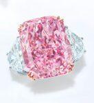 Sakura Square Cut Pink Diamond