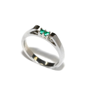 Emerald ring - may birthstone