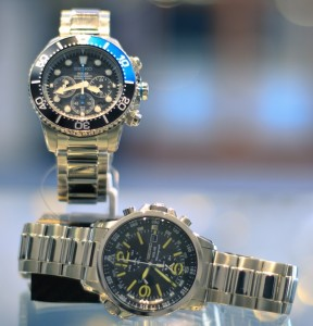 Seikos from Boggs Jewelers